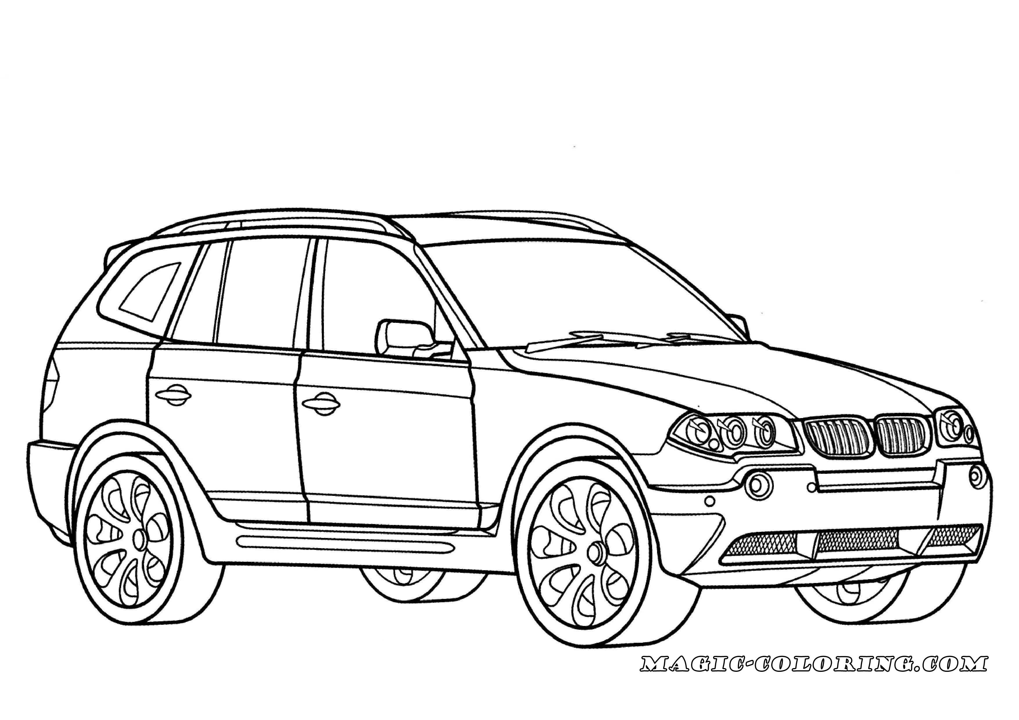 Bmw X3 Coloring Page Bmw X3 Cars Coloring Pages Bmw
