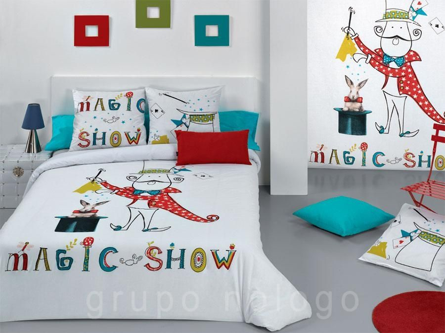 Funda nórdica infantil Magic | Para Manuel | Pinterest | Fundas ...