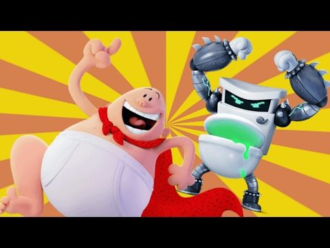 Captain Underpants The First Epic Movie All Artwork As Of Now Updated Youtube Captain Underpants Kids Songs Epic Movie