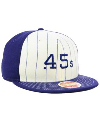 9109d1e9719 New Era Houston Colt 45s Vintage Front 59FIFTY Fitted Cap - White 7