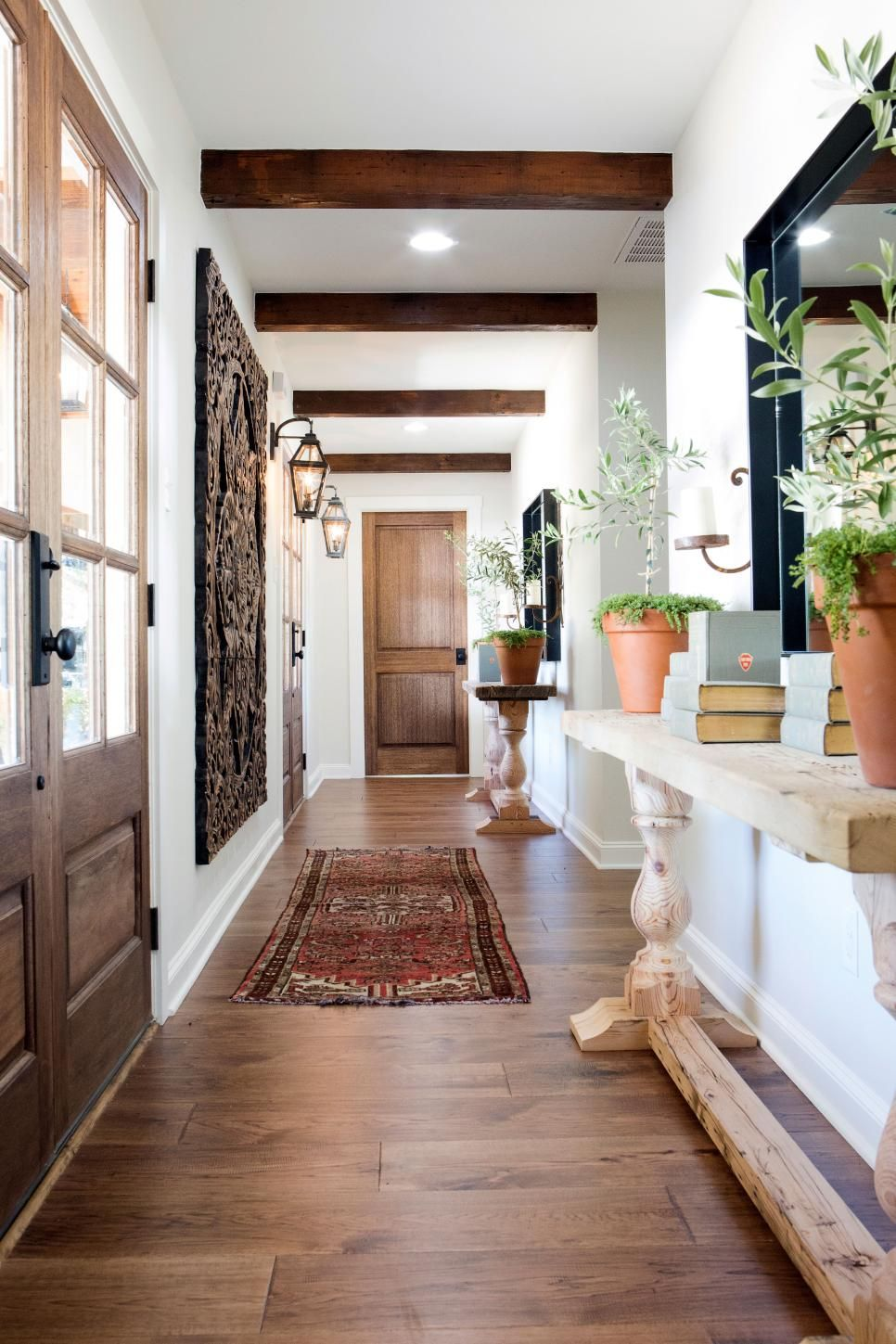 Joanna gaines hallway ideas  In one of their biggest challenges yet in terms of redefining spaces