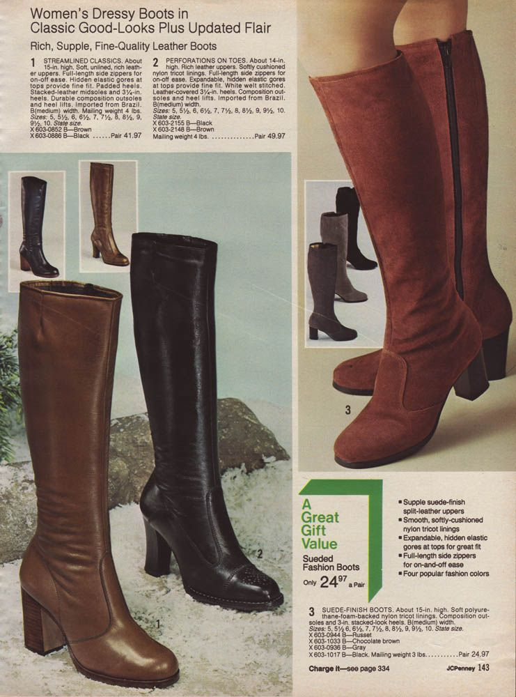 Hot Styles Vintage Boots From The 70 S Vintage Boots