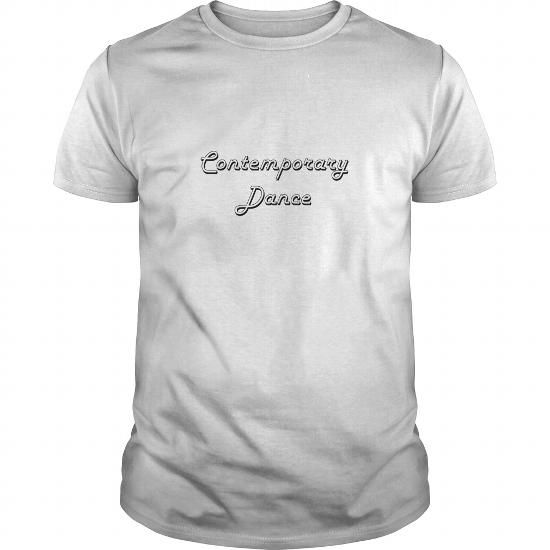 Awesome Tee Contemporary Dance Classic Retro Design T shirt