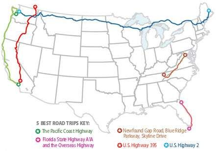 USAs 5 best road trips USA WEEKEND usaweekendcom