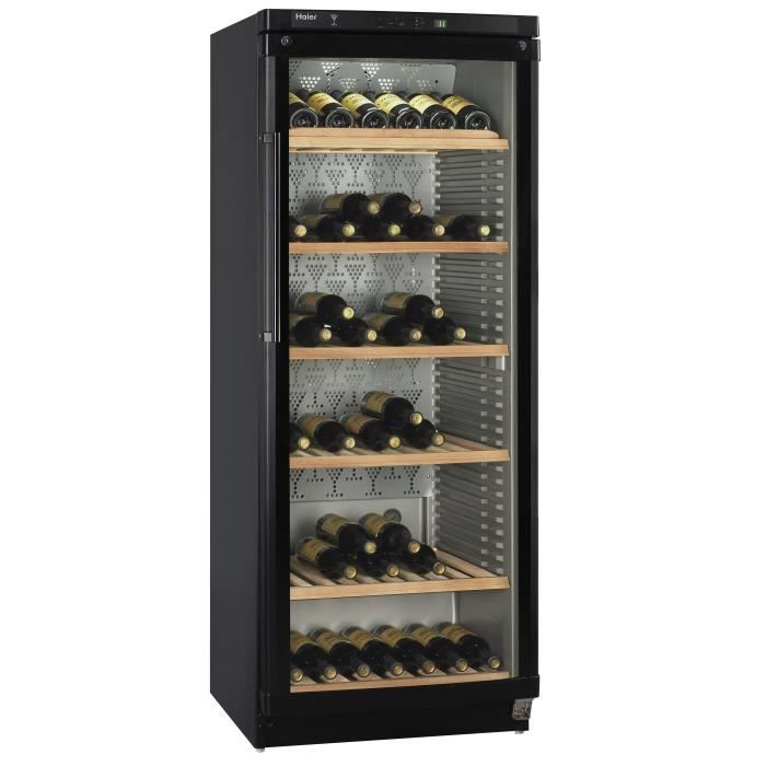 haier jc398ga - cave à vin de vieillissement - 174 bouteilles
