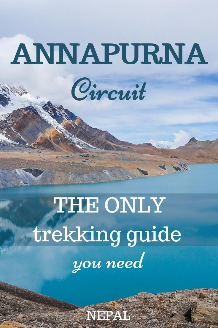 Trek Annapurna Circuit and Tilicho lake by yourself Asia