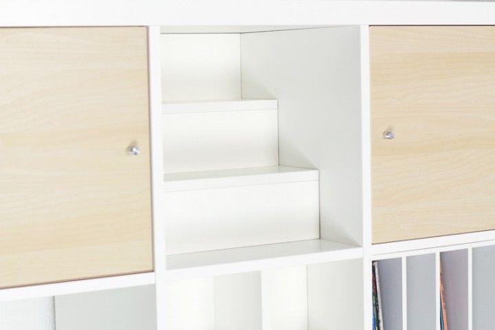 Stufeneinsatz für Ikea Expedit Regal | Wohnen | Pinterest | Expedit ...