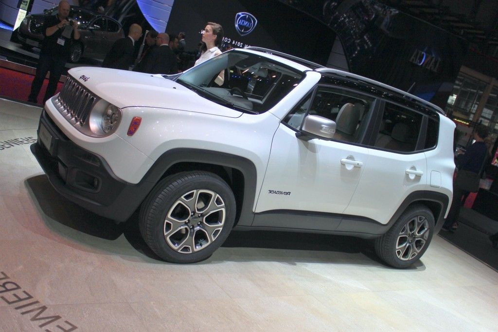 2015 Jeep Renegade White New Future Cars 2016/2017