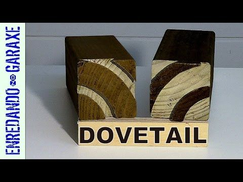 Impossible curved dovetail joint - YouTube
