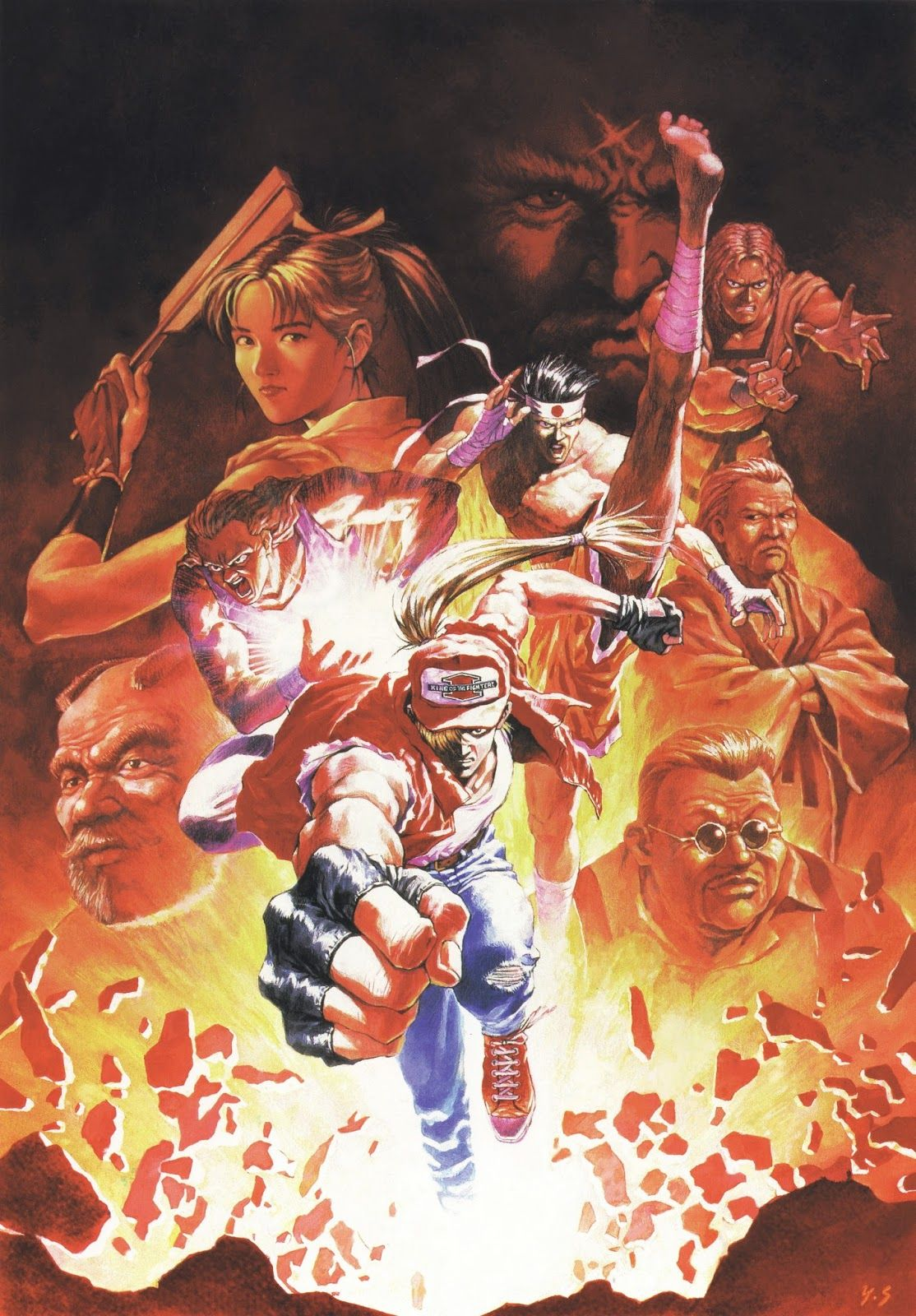 poster fatal fury king of fighter - Pesquisa Google   Video Games ...