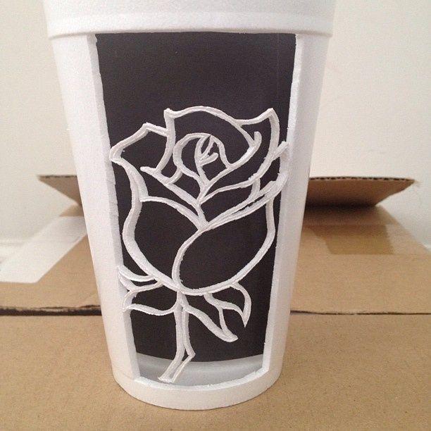 New Sharpie Art on Styrofoam Cups | art, words, and blogs. | Pinterest  BN59
