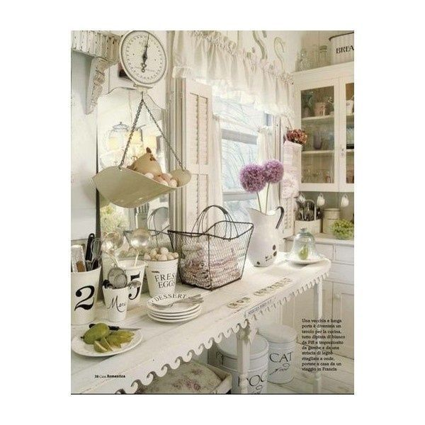 Interesting Facts About Shabby Chic Country Kitchen Design: Easter Tulips