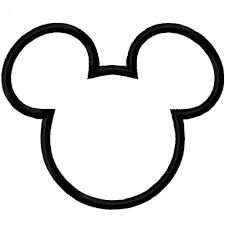 Mickey Head Coloring Pages Google Search Mickey Mouse Silhouette Mickey Mouse Template Mickey Mouse Head
