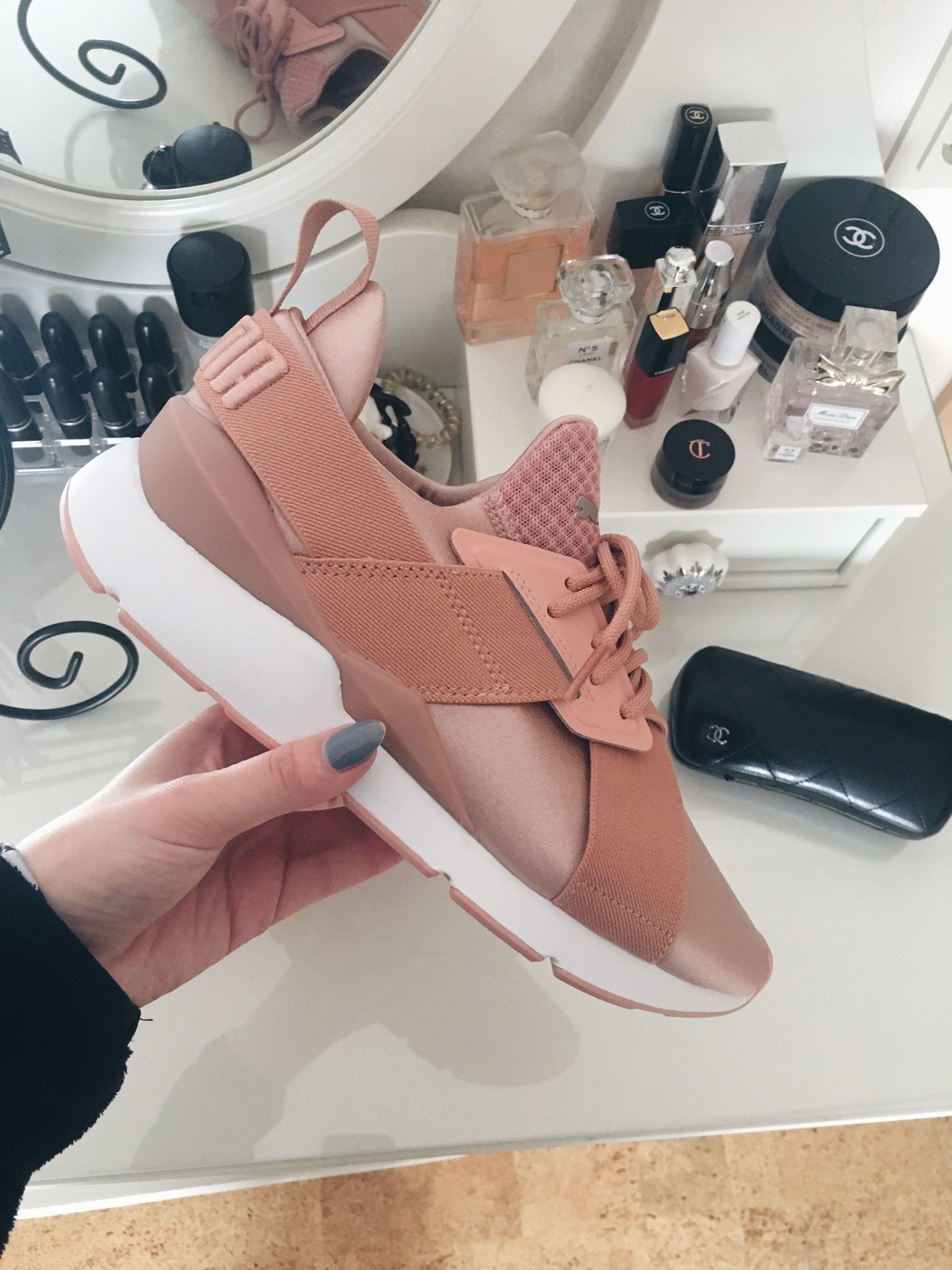 Puma Muse x Strap peach   Cute shoes, Sneakers, Pumas shoes