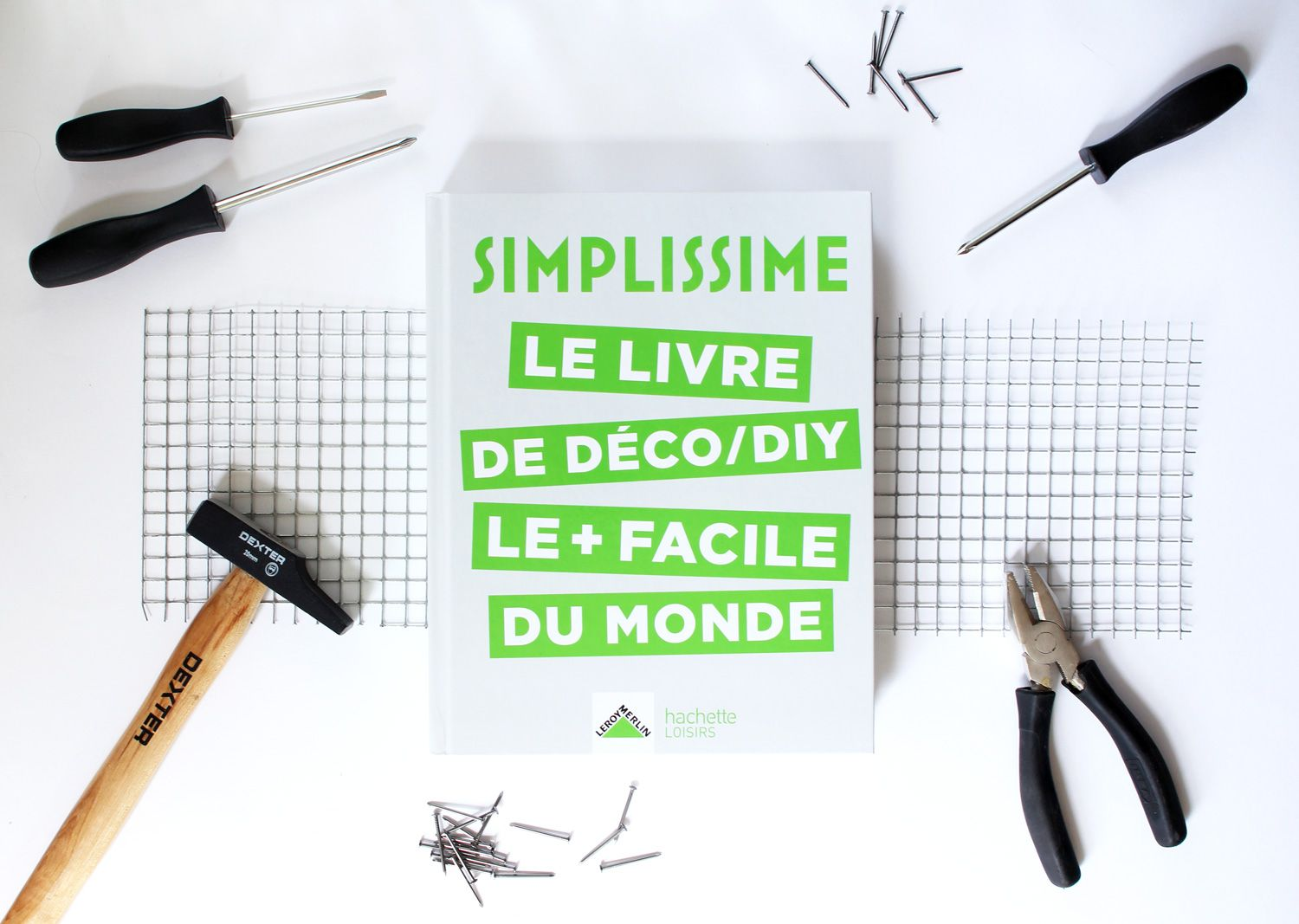 Simplissime Le Livre De Deco Le Simple Du Monde Vert Cerise Blog Diy Do It Yourself Lifestyle Et Creatif Deco Diy Faire Soi Meme