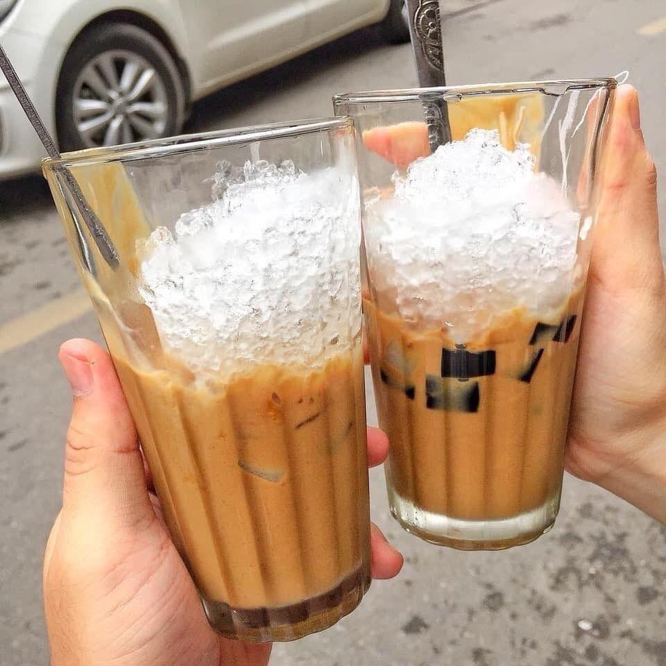 CAFE CỐT DỪA HẢI PHÒNG‼️ E mê đắm cafe cốt dừa này bởi vị cafe đậm như đang  nhấm nháp ly cafe vậy thêm cốt dừa thêm ngậy . Chỉ cần c…  