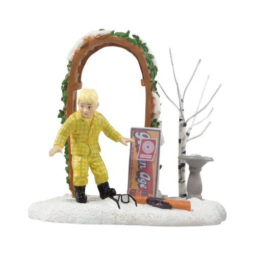 Department 56 A Christmas Story Village Ralphie Loses His Glasses