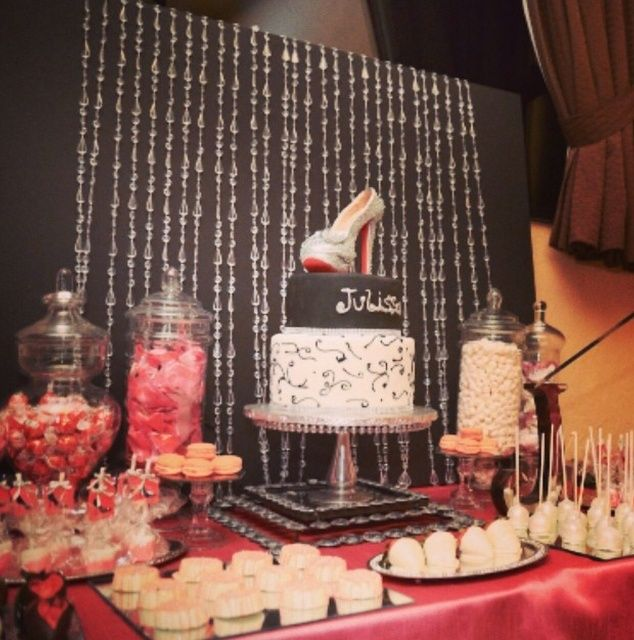 High Heels, 40th Birthday Birthday Party Ideas