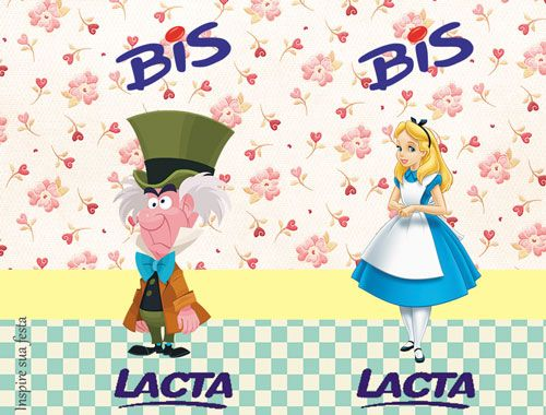 Alice No Pais Das Maravilhas Kit Festa Gratis Para Imprimir
