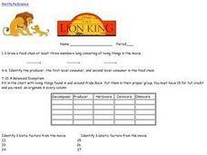 Lion King Worksheet Lion Worksheets King