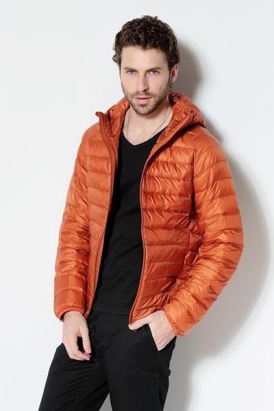 Jackets & Coats 2019 New Men White Duck Down Jacket Portable Hooded Down Coat Ultralight Men Winter Coat Warm Thermal Down Parkas Plus Size