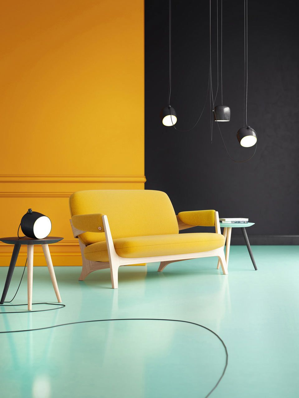 Candy brings a fresh approach to seating rounding interiors and