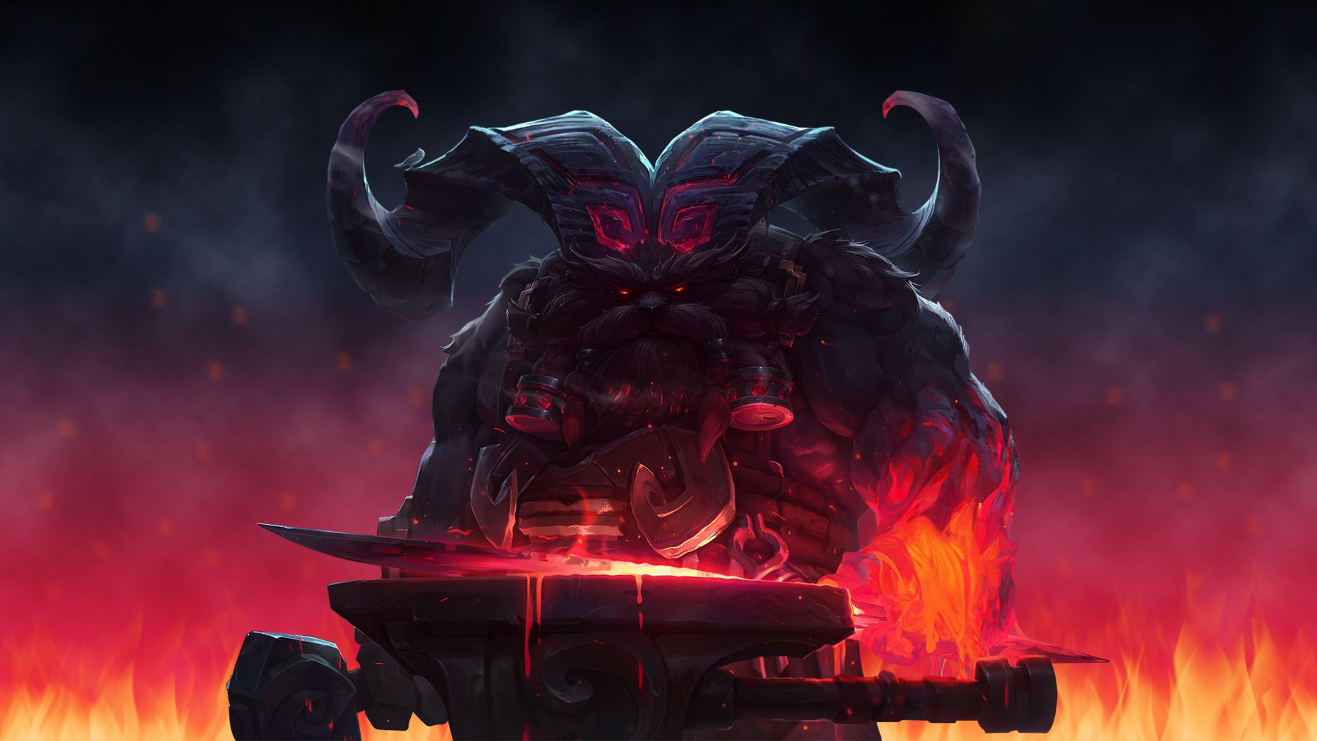 Image result for Ornn wallpaper League of legends, Liga