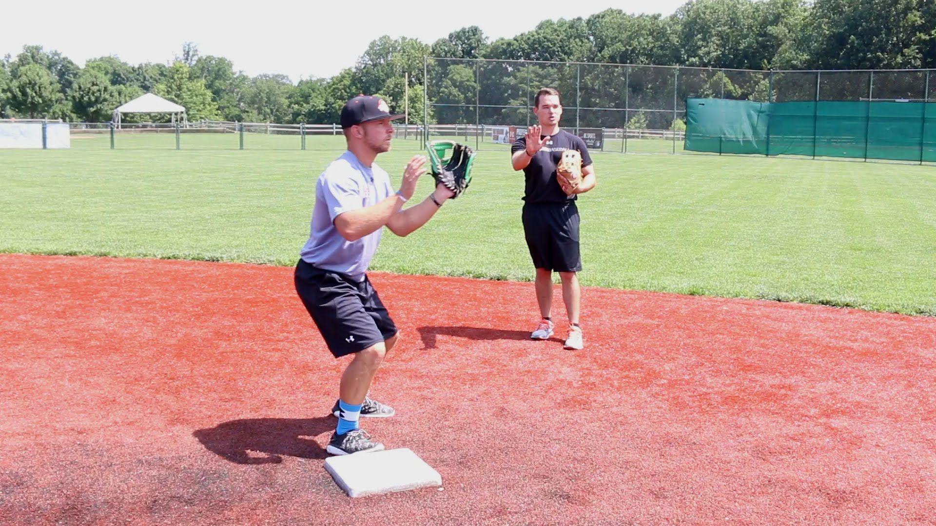 Shortstop Double Play Footwork the Ripken Way - YouTube