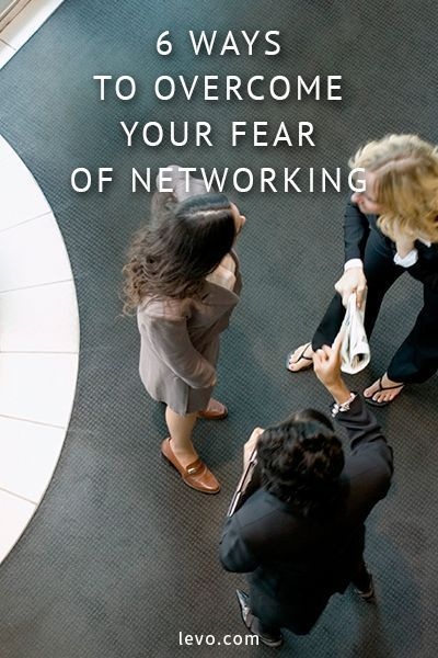 Is your fear of networking holding you back? Here's some awesome advice to hack into the network world!
