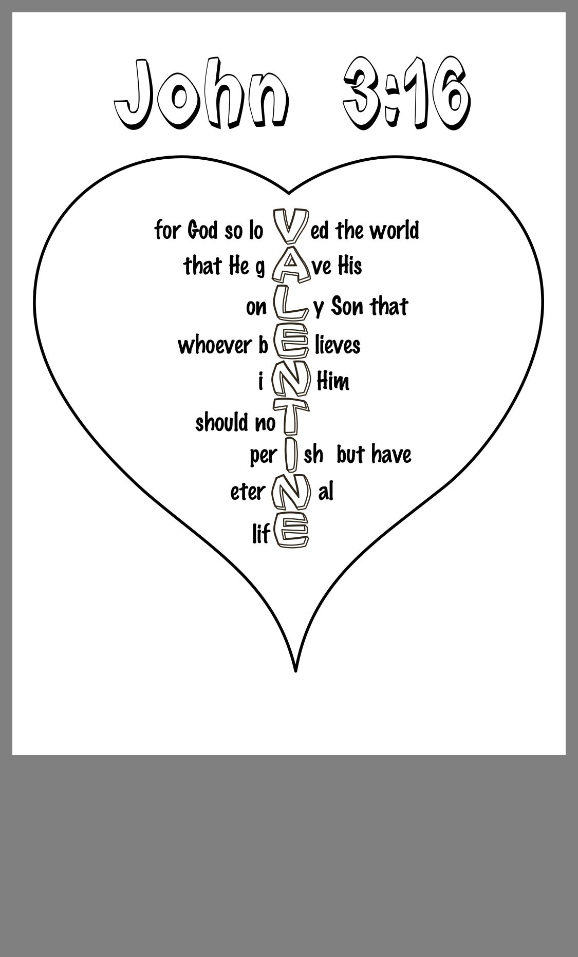 Pin by Amy White on Crafts Childrens church, John 316