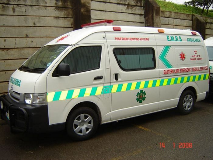 Eastern Cape Ambulance Toyota Hi-Ace (South Africa) | Fire Trucks