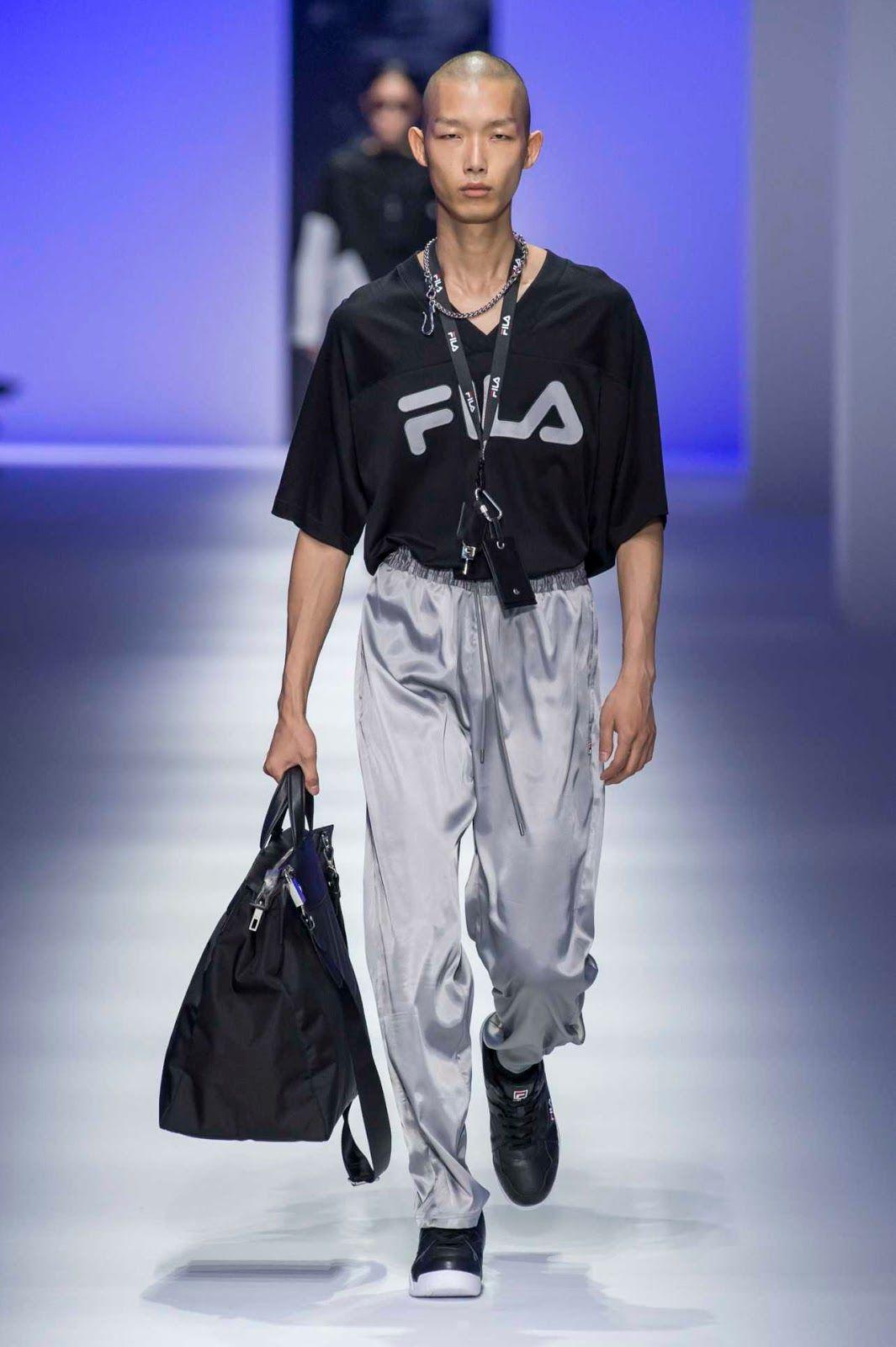 Fila Spring-Summer 2019 Runway Show | Fila | Fashion, Spring ...