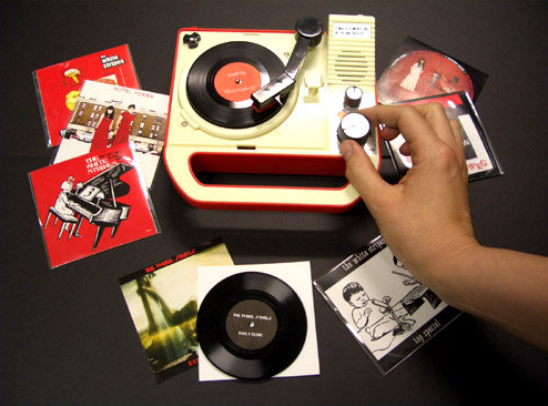 This Is Pretty Cool The White Stripes Have Released A Working Record Player That S Able To Play 3 Records