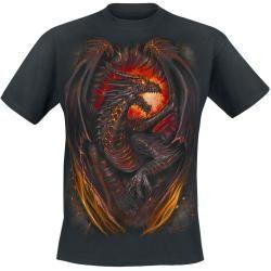 Photo of Spiral Dragon Furnace T-Shirt Spiral Direct