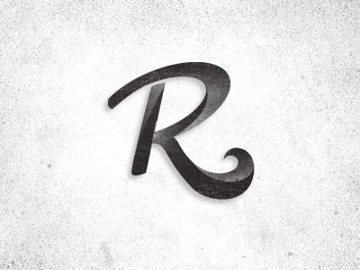R Doodle | Typography, Typography letters and Logos