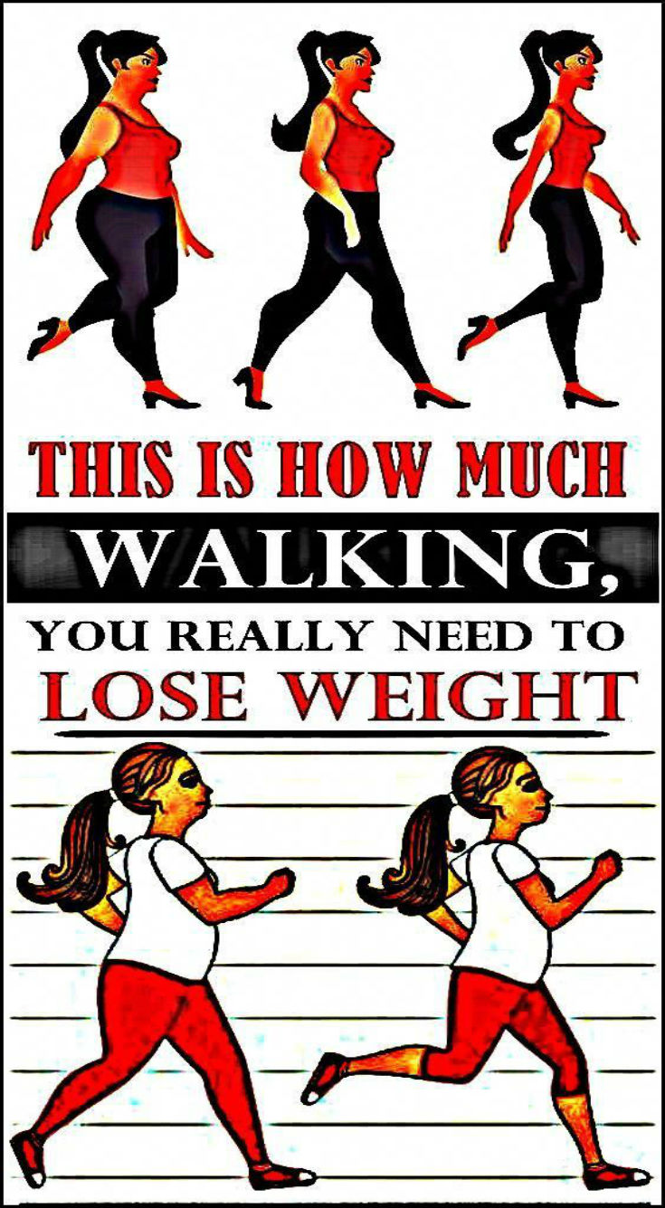 This Is How Much Walking, You Really Need To Lose Weight! - Daily Rumors