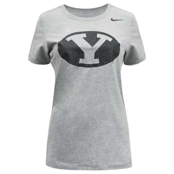 118103fc BYU Bookstore - Nike Ladies Fitted Oval Y BYU T-Shirt (Multiple Colors)