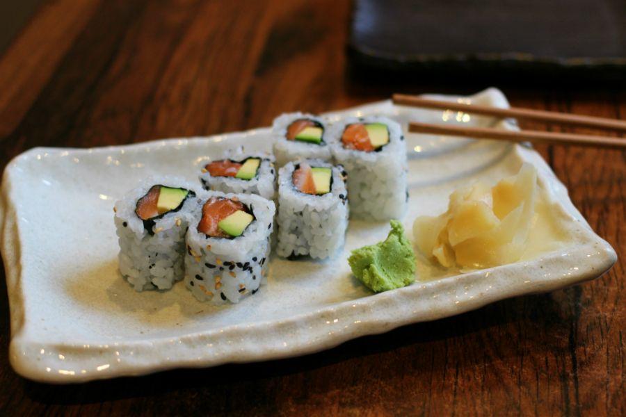 Kami Japanese Food, Salmon avocado, Food and drink