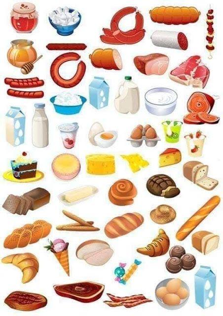 Tareitas Alimentos Varios Alimentos Preescolar Alimentación Saludable Para Niños Actividades De Nutrición