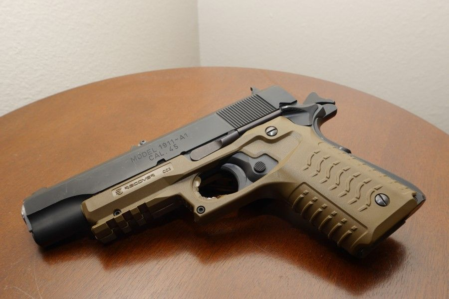 Gear Review: Recover Tactical 1911 Grip - The Truth About ...