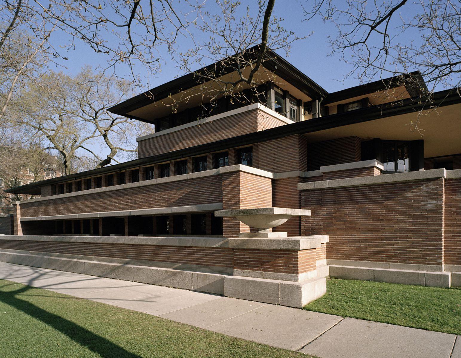 Frank Lloyd Wright Robie House Frank Lloyd Wright Robie House Frank Lloyd Wright Buildings Frank Lloyd Wright Robie