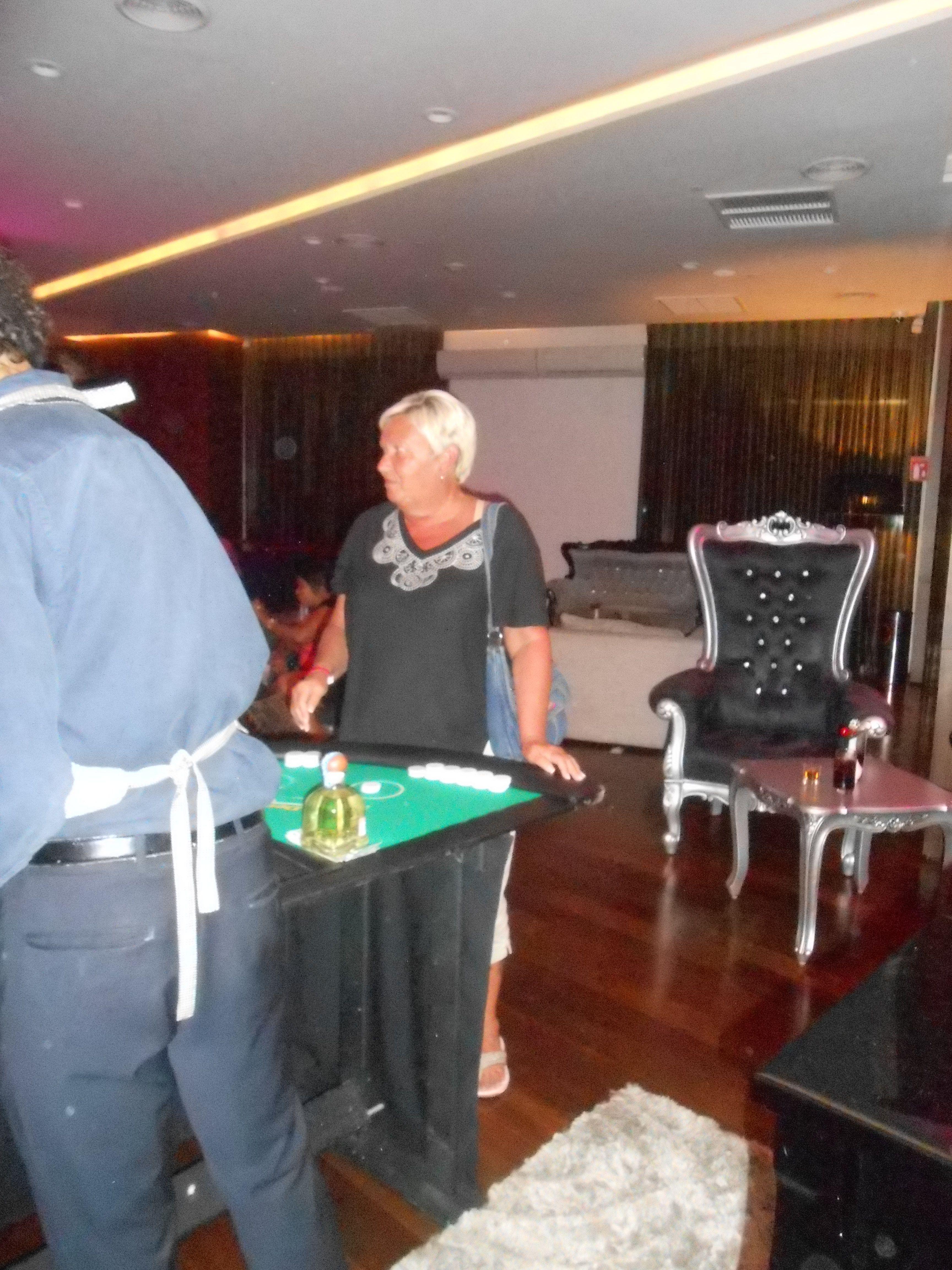Casino Night at Bar One.