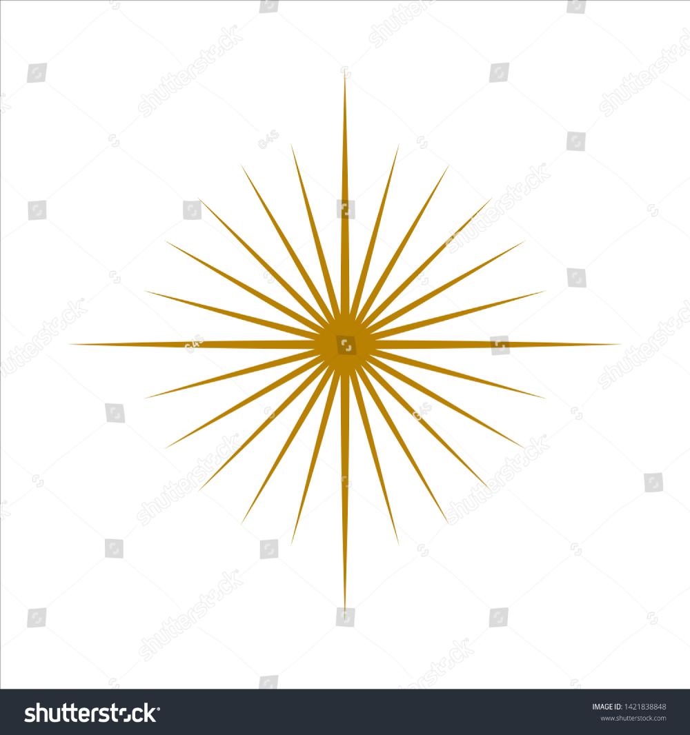 Sun Burst Logo Design Vector Graphic Stock Vector Royalty Free 1421838848 Logo Design Stock Vector Vector