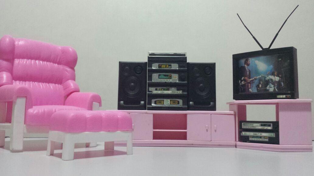 Sala De Tv Glória (barbie 6b54860f9df