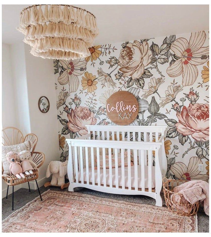 Harlow // Peel and Stick Wallpaper // Removable peel and