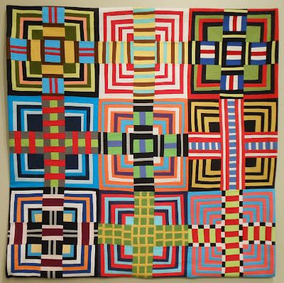 quilt by Maria Shell: Dance Party at Tamara's House