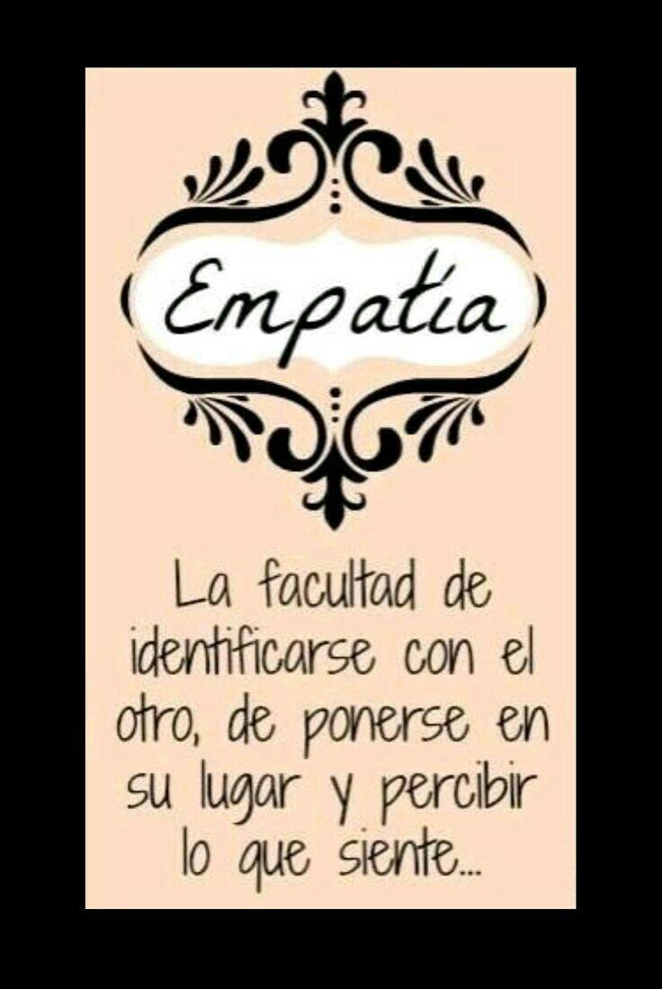 Pin De Paola Karina Pérez Esquivel En Letras Empatia
