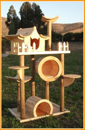 Casas Y Juegos Para Gatos Maestro Lobo Casita Para Gatos