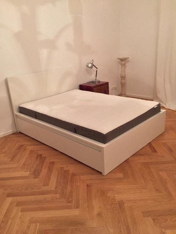 Bett Mit Schubladen 140 200 Fresh Ikea Malm Bett 140 200 Inkl Lattenrost Matratze Und Zwei In 2020 Ikea Malm Bett Malm Bett Malm Bett 140
