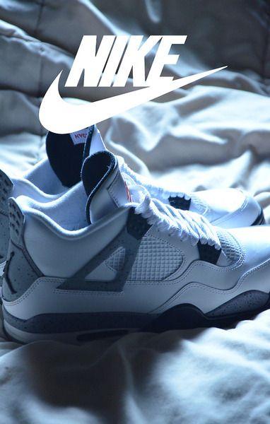 Cheap Online 2015 Nike Jordan 4 Cheap sale Grey Green Glow Cemen